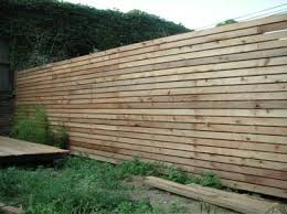 Adventures In Fence Building Going Horizontal Brownstoner Backyard Fences Backyard Fence Design