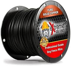 Amazon Com Petsmart Invisible Fence Compatible Above Ground Or Underground Wire For Diy Electric Pet Fence 1500 Foot Spool Of Better Quality High Performance Solid Core Copper Wire For Easy Installation