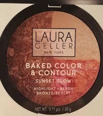 laura geller baked color contour
