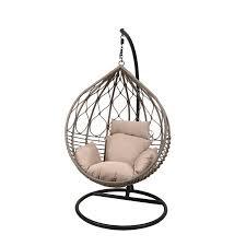 mille woven hanging garden egg chair