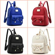 small soft washed leather backpacks