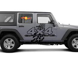 Product 4x4 Off Road Mud Tires Decal Sticker Fit Nissan Titan Frontier Toyota Tacoma Fj Jeep