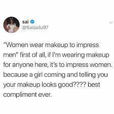 sai saisailu97 women wear makeup