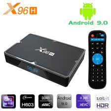 Android TV Box X96 -H - HDMI In & Out, Ram 4G, Bộ nhớ 32GB, Android 9