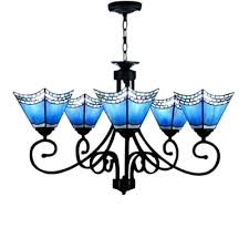 vintage stained glass shade inverted