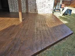 concrete patios decks beautiful