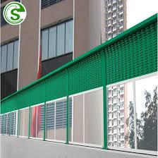 China Factory Highway Sound Barrier Railway Noise Barrier Noise Reduction Fencing China Steel Sound Barrier Soundproof Wall Panel