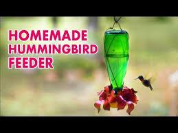 make a hummingbird feeder you