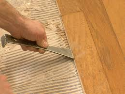install engineered wood over concrete