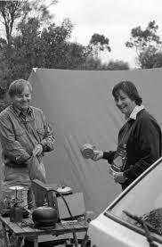 Alan Walker and Sally Smith camping at Bool Lagoon, South ...