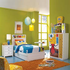Spongebob Bedroom Wall Color Like The Colors And The Simplicity Bedroom Design Toddler Boys Room Bedroom Wall Colors