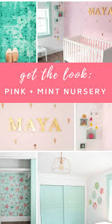 maya s mint and pink nursery get the