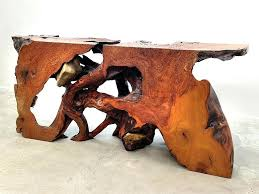 tablet holder rustic coffee table plans