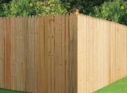 Universal Forest 6x8 1x4 Brite Stockade Fence Section At Sutherlands