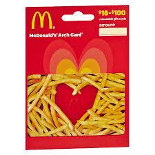 mcdonald s non denominational gift card