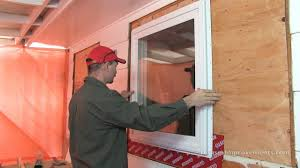 install a window with a nailing