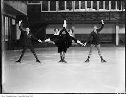 Skating Club, Wilson, Maud & Cecile Smith, Jack Eastwood ...