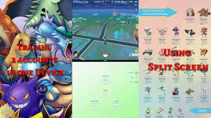 Pokemon go Two Accounts in one Phone at the same time! Trading ...