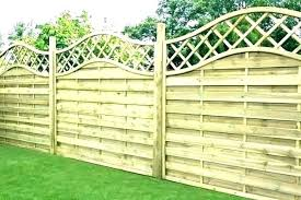 decorative garden fencing metal panels