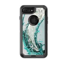 Skin Decal For Otterbox Defender Iphone 7 Plus Or Iphone 8 Plus Case Water Splash Walmart Com