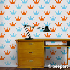 Crown Wall Decal Set Prince And Princess Crown Stickers Princess Bedroom Decor Crown Stickers Kid S Room Decor Nursery Decor