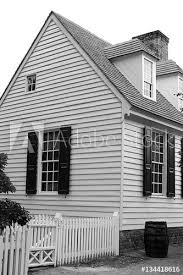 Wood Fence White Wood House Black White Buy This Stock Photo And Explore Similar Images At Adobe Stock Adobe Stock