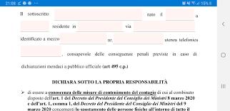 Covid-19, nuovo modulo per autocertificazione: bisogna dichiarare ...