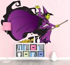 Witch From The Wizard Of Oz Fairy Tale Sticker Tenstickers