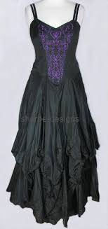 gothic meval dresses pagan witchy