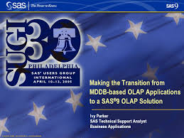 Copyright © 2005, SAS Institute Inc. All rights reserved. Making the  Transition from MDDB-based OLAP Applications to a SAS ® 9 OLAP Solution Ivy  Parker. - ppt download