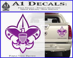 Boy Scouts Logo Decal Sticker A1 Decals