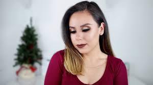 christmas makeup tutorial makeup with