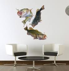 Large Mouth Bass Wall Decal Allposters Com