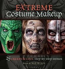 extreme costume makeup 25 creepy