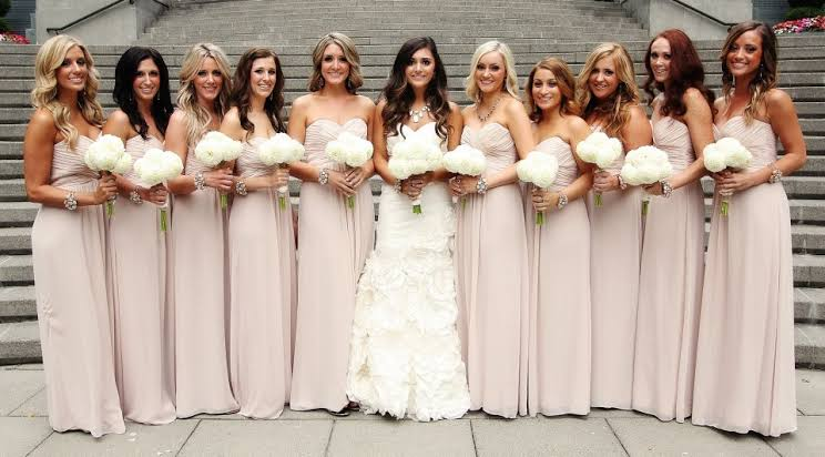 Image result for brides and bridesmaids