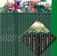 Chain Mesh Slats Fencing Screening Products Wholesale Cyclone Wire Slats