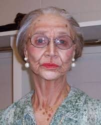 theatrical makeup to look old