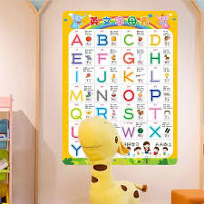 Practical Early Learning Sticker English Letters Recognizing Wall Stickers Wall Decals Home Adornment For Kids Room Aliexpress