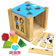 Đồ chơi gỗ Winwintoys 69022 - Hộp Xếp Hình Thả Khối, Giá tháng 11/2020