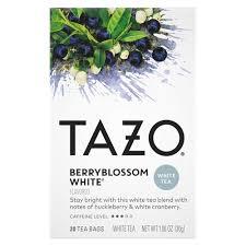 white tea berryblossom 20 tea bags