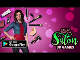 beauty spa salon makeover games 3d