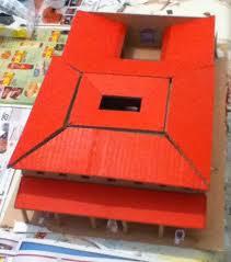 maquette de maison romaine