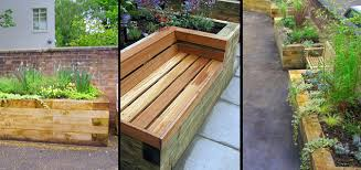 raised planters and garden beds