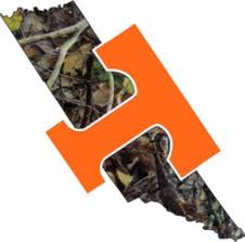 Tennessee Volunteers Power T Camo Precision Cut Ut Vols Decal 7