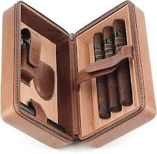 highly polished chrome cigar case