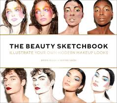 beauty ilrated guided sketchbook