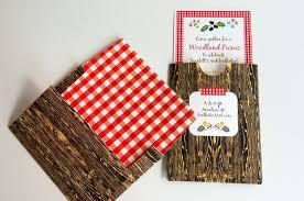 Invites Woodland Picnic Birthday Invitation Tarjetas Invitacion