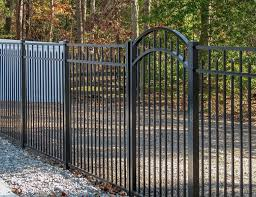 Backyard Aluminum Fence