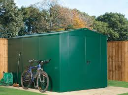 extra large secure metal garden shed