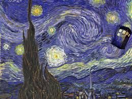 starry night tardis wallpapers top